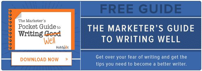 guía gratuita para escribir bien
