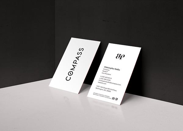 brújula-realtor-tarjeta de negocios