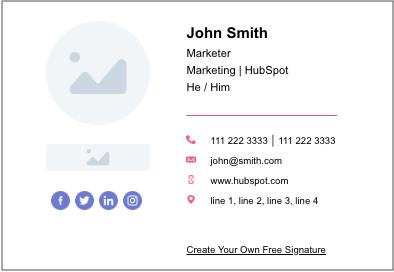 correo electrónico-firma-ejemplo-generador