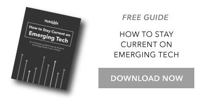 Guía Manténgase al día sobre la tecnología emergente