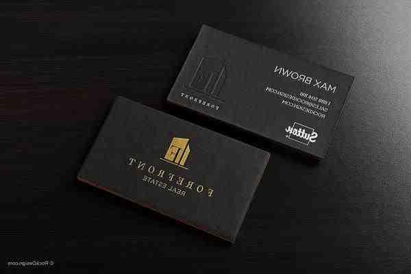 Forefront-real-estate-realtor-business-card