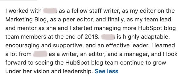 Líder Del Equipo De Recomendación De LinkedIn